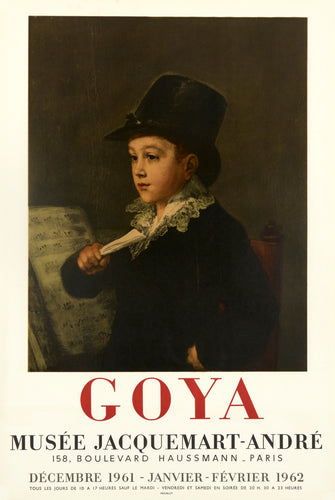 Musee Jacquemart-Andre by Francisco de Goya 1961