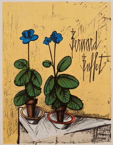 Galerie Matignon (Without text) by Bernard Buffet 1980