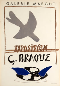 Galerie Maeght by Georges Braque 1959