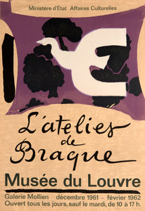 L'atelier de Braque by Georges Braque 1961