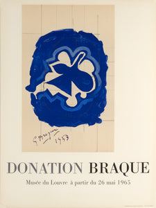 Donation Braque by Georges Braque 1965