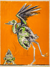 Bird About to Take Flight by Graham Sutherland