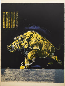 Chained Beast by Graham Sutherland