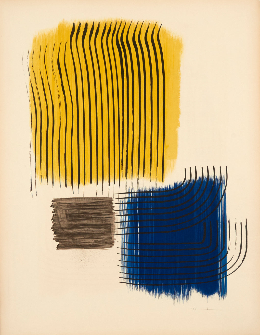 Musee National D'art Moderne de Paris by Hans Hartung