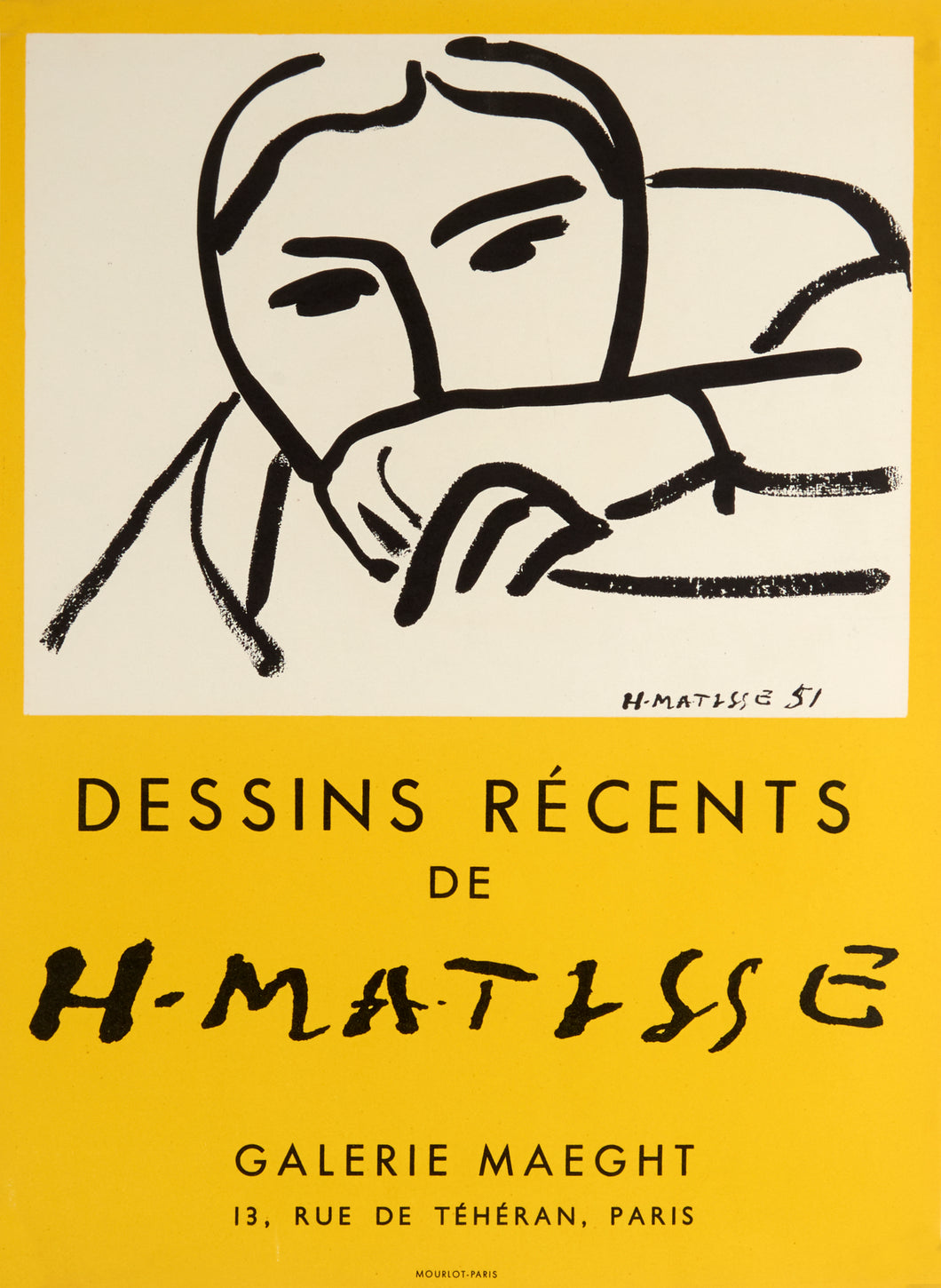 Dessins Récents by Henri Matisse 1952