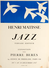 Jazz by Henri Matisse 1947