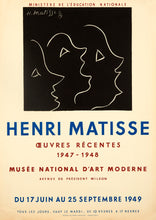 Oeuvres Recentes, Musee National d'Art by Henri Matisse 1949