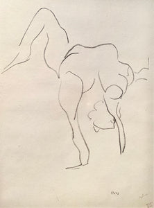 "From the series ""Danseuse Acrobates"" IV by Henri Matisse"