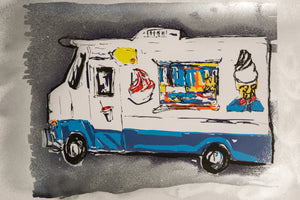 Ice Cream Truck 18 by M. Schorr