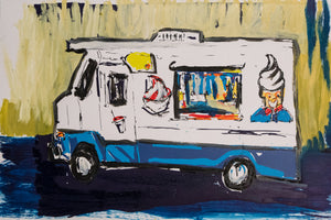 Ice Cream Truck 8 by M. Schorr