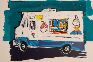 Ice Cream Truck 9 by M. Schorr