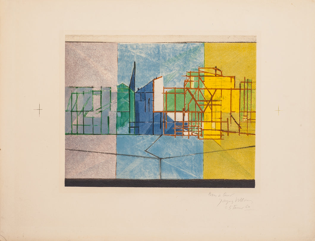 Le Long du Parc by Jacques Villon