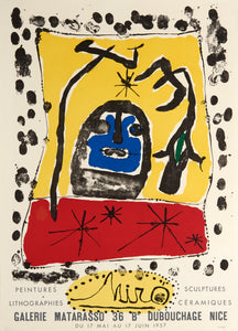 Galerie Matarasso by Joan Miró 1957