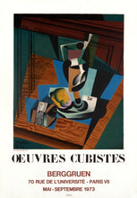 Oeuvres Cubistes by Juan Gris 1973