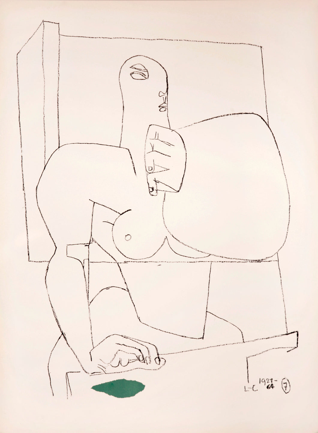 Athlete 7 by Le Corbusier