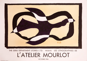 L'atelier Mourlot by Georges Braque 1984