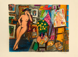 Nude Model by Lennart Jirlow