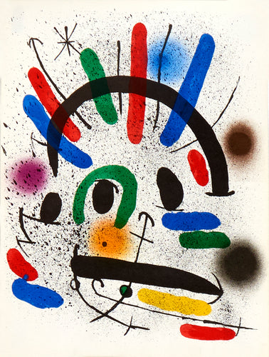 Lithographies Originales II by Joan Miró 1972