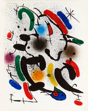 Lithographies Originales VI by Joan Miró 1972