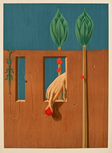 At the First Clear Word (Painting from 1923) by Max Ernst