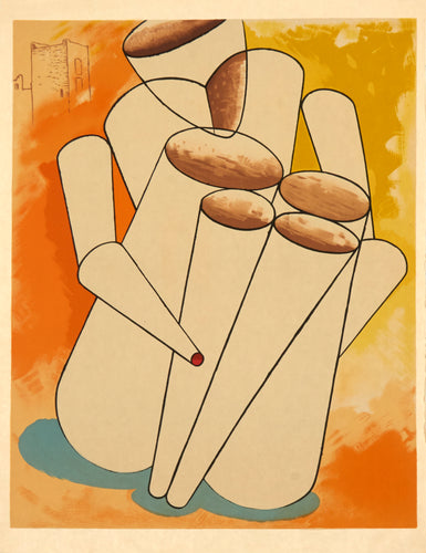 Personage by Man Ray 1975