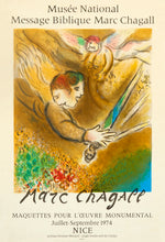 L'Ange du jugement III by Marc Chagall 1974