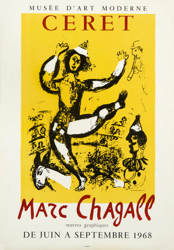 Le Cirque by Marc Chagall 1968