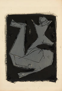 Guerriero by Marino Marini 1963