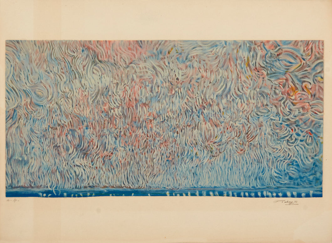 The Scroll of Liberty by Mark Tobey 1973