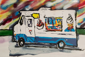 ~unique~ Ice Cream Truck by M. Schorr