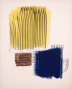 Musee National d'Art Moderne de Paris (w/out text) by Hans Hartung