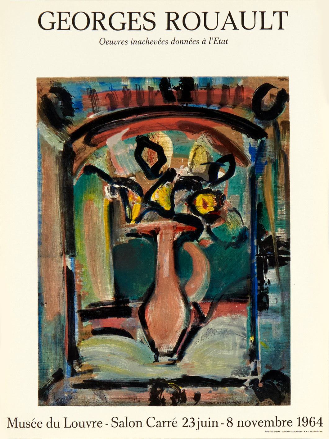 Musee du Louvre by Georges Rouault 1964