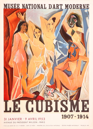 Musee National D'Art Moderne, Le Cubisme by Pablo Picasso