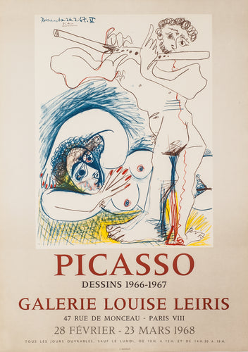 Dessins 1966-1967, Galerie Louise Leiris by Pablo Picasso