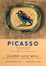 Picasso Ceramics, Galerie Lucie Weill by Pablo Picasso 1967