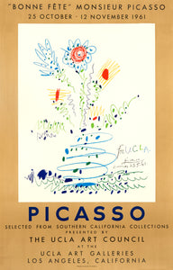 The UCLA Art Galleries by Pablo Picasso 1961