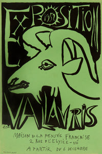 Vallauris (Green) by Pablo Picasso
