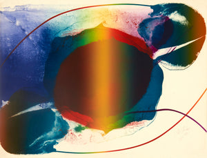 untitled IV by Paul Jenkins colorful image 1973