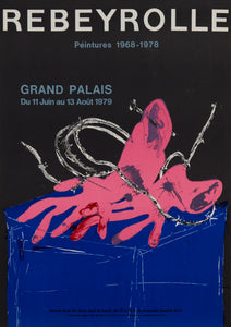Grand Palais by Paul Rebeyrolle 1979
