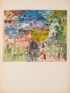Galerie Dina Vierny Aquarelles-Dessin (before lettering) by Raoul Dufy