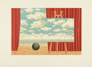 La Belle Captive by René Magritte 1968