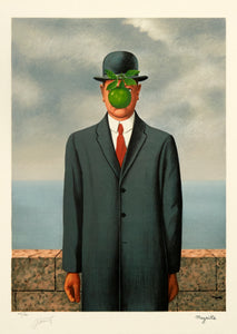 Le Fils de l'Homme (Son of Man) by René Magritte 1973