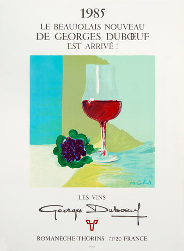 Les Vins, Georges Duboeuf by Roger Mühl 1985