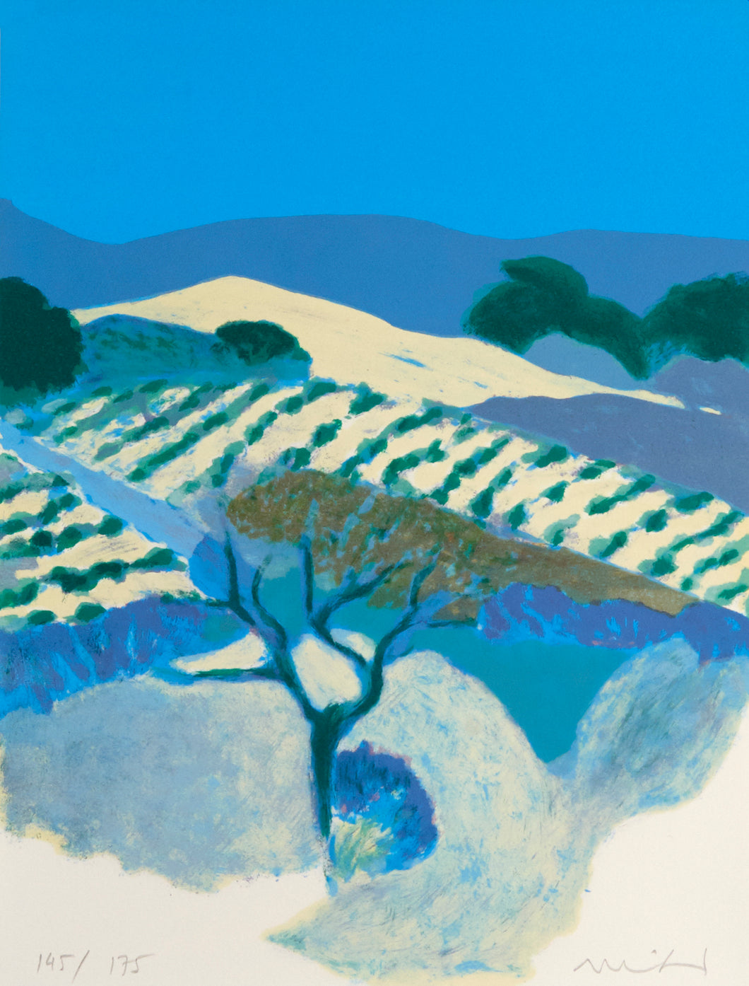 Provence IV by Roger Mühl 1986