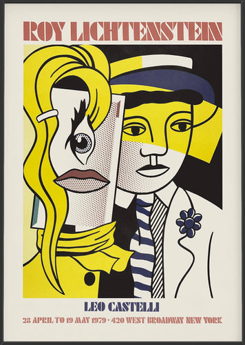 Leo Castelli by Roy Lichtenstein (Framed)