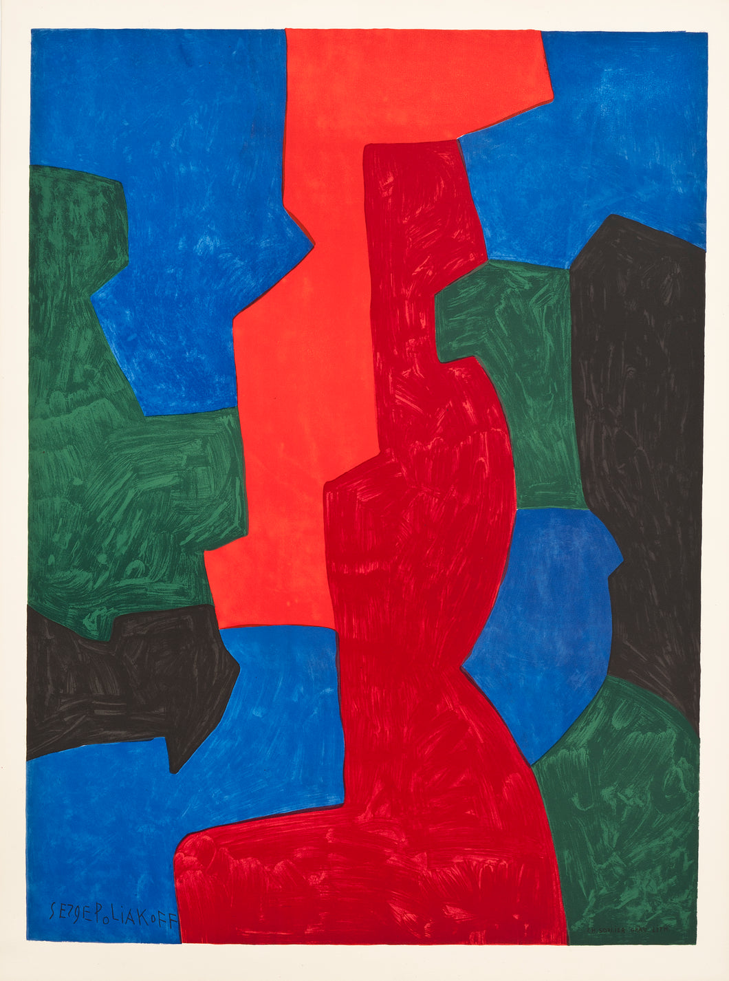 Untitled by Serge Poliakoff, 1975