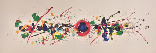 Untitled (Swatch Watch) by Sam Francis 1992