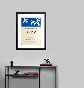 Jazz by Henri Matisse (to scale)