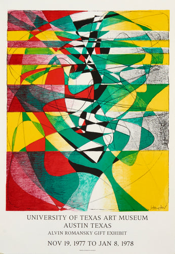 University of Texas Art Museum - Austin Texas by Stanley William Hayter 1977