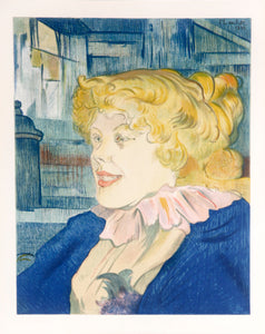 The Lady of the Star Harbour by Henri de Toulouse-Lautrec 1950s